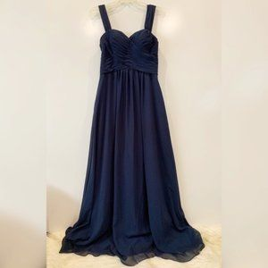 Azazie | Formal | Dark Navy Bridesmaid Gown | A4